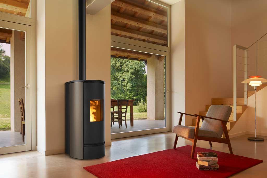 buy pellet stoves_Piazzetta-P920T_Terra-Cotta