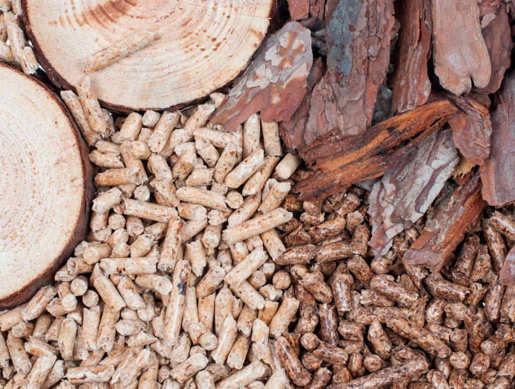 wooden biomass